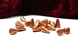 20 Spike Beads Copper 5x8mm