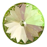 1 Rivoli Crystal Lumin Green 12mm