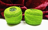 Cotton Perle 12 Dark Lime Green