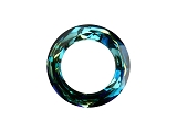 Cosmic Ring Crystal Bermuda Blue 20mm