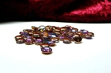 50 Lentils Crystal Copper Rainbow