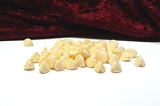 50 Pinch Beads Chalk White Champ. Luster