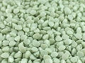 50 Pinch Beads Pearly Green