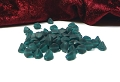 50 Pinch Beads Emerald Matt