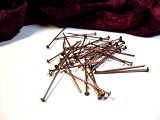 50 Headpins 30mm